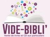 Opération « Vide Bibli » à la Médiathèque départementale du Loiret 24 et 25 novembre 2017