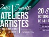 Portes ouvertes Ateliers d'artistes & artisans d'art du Loiret les 19 & 20 Octobre 2019